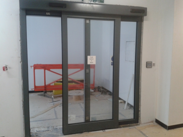 30 Minute Fire Rated Automatic Door England United Kingdom